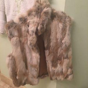 New 2019 rabbit fur haute couture fur vest